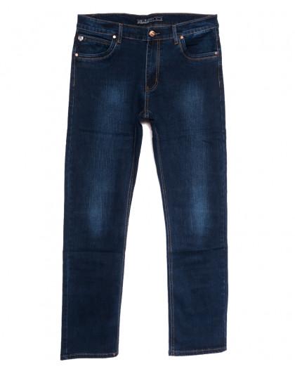 66022 Pr.Minos джинсы мужские полубатальные синие осенние стрейчевые (32-42, 8 ед.) Pr.Minos