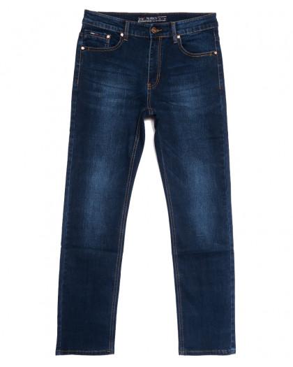 66029 Pr.Minos джинсы мужские полубатальные синие осенние стрейчевые (32-38, 8 ед.) Pr.Minos