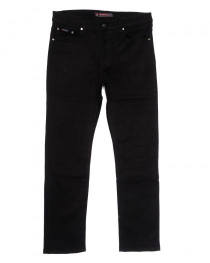 66039 Pr.Minos джинсы мужские полубатальные черные осенние стрейчевые (32-38, 8 ед.) Pr.Minos
