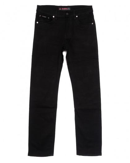 66038 Pr.Minos джинсы мужские черные осенние стрейчевые (29-38, 8 ед.) Pr.Minos