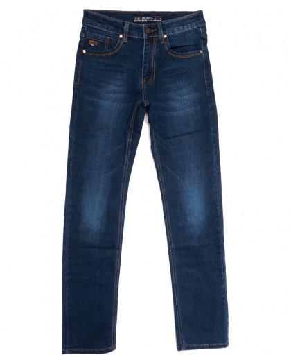 66028 Pr.Minos джинсы мужские синие осенние стрейчевые (29-38, 8 ед.) Pr.Minos