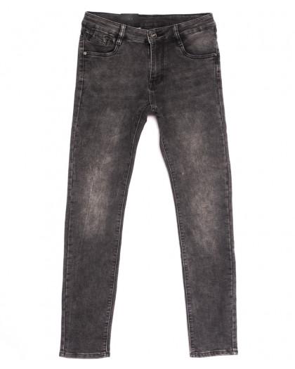20059-6 Viman джинсы мужские серые осенние стрейчевые (29-37, 6 ед.) Viman