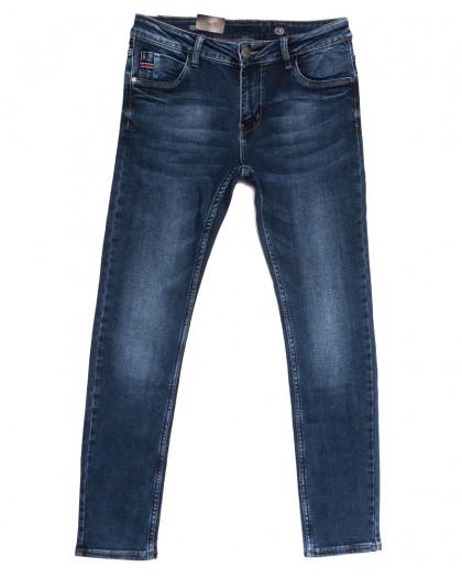20050-6 Viman джинсы мужские синие осенние стрейчевые (30-40, 6 ед.) Viman