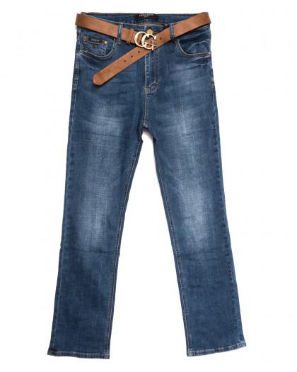 9366 Dimarkis Day джинсы женские батальные синие осенние стрейчевые (32-42, 6 ед.) Dimarkis Day