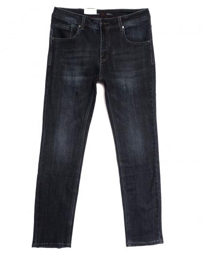 0020-15 (GD20C15-Х6) God Baron джинсы мужские полубатальные темно-серые осенние стрейчевые (32-38, 8 ед.) God Baron