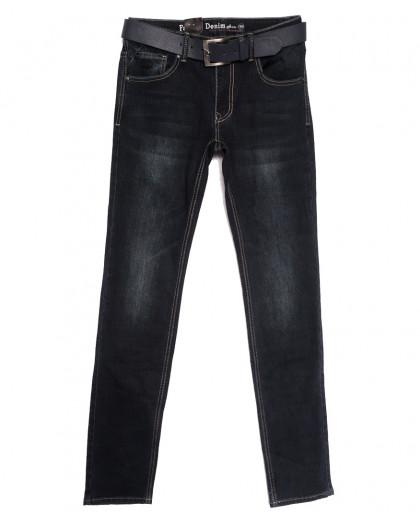 0020-33 (20C33-Х6) God Baron джинсы мужские темно-серые  осенние стрейчевые (30-38, 8 ед.) God Baron