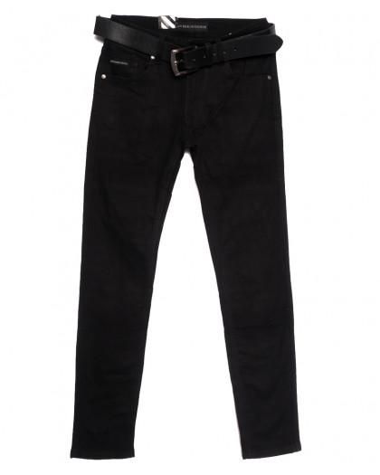 0020-09 (GD20C09-Х3) God Baron джинсы мужские молодежные черные осенние стрейчевые (28-36, 8 ед.) God Baron