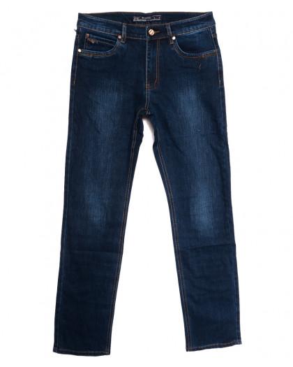 66025 Pr.Minos джинсы мужские полубатальные синие осенние стрейчевые (33-44, 8 ед.) Pr.Minos
