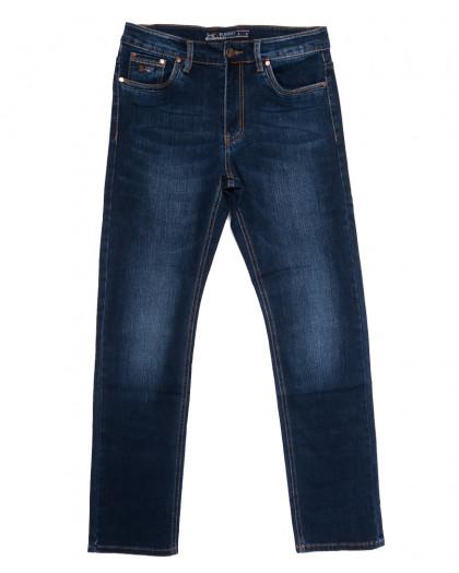66021 Pr.Minos джинсы мужские полубатальные синие осенние стрейчевые (32-42, 8 ед.) Pr.Minos