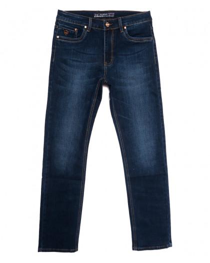 66023 Pr.Minos джинсы мужские полубатальные синие осенние стрейчевые (33-44, 8 ед.) Pr.Minos