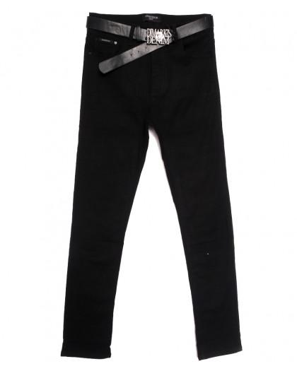 9434 Dmarks джинсы женские батальные черные осенние стрейчевые (31-38, 6 ед.) Dmarks