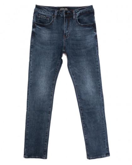 02777 (02-777) Reigouse джинсы мужские синие осенние стрейчевые (30-38, 8 ед.) REIGOUSE