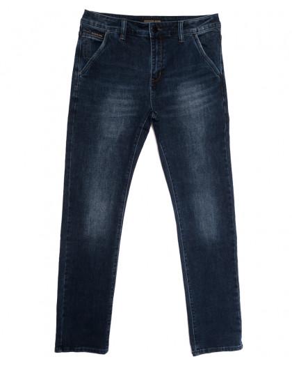 04777 (04-777) Reigouse джинсы мужские полубатальные синие осенние стрейчевые (32-38, 8 ед.) REIGOUSE