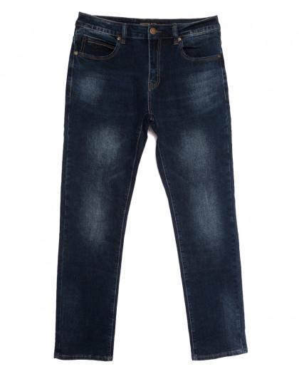 07777 (07-777) Reigouse джинсы мужские полубатальные синие осенние стрейчевые (32-42, 8 ед.) REIGOUSE