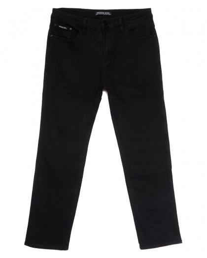 08777 (08-777) Reigouse джинсы мужские батальные черные осенние стрейчевые (36-46, 8 ед.) REIGOUSE