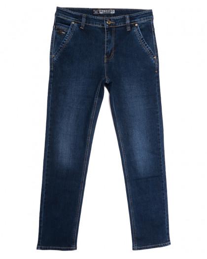 2613 Bagrbo джинсы мужские полубатальные синие осенние стрейчевые (32-38, 8 ед.) Bagrbo