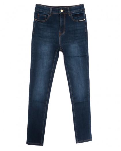 0577 New Jeans американка на флисе синяя зимняя стрейчевая (25-30, 6 ед.) New Jeans