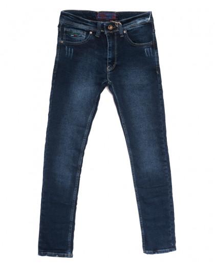 7230 Redcode джинсы мужские с царапками синие осенние стрейчевые (29-36, 8 ед.) Fashion Red