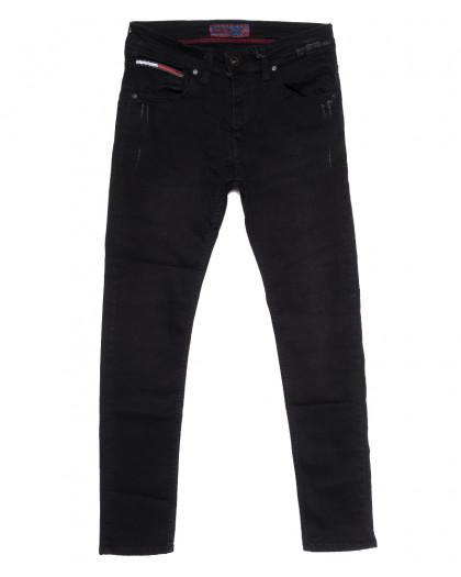 7234 Redcode джинсы мужские черные осенние стрейчевые (29-36, 8 ед.) Fashion Red