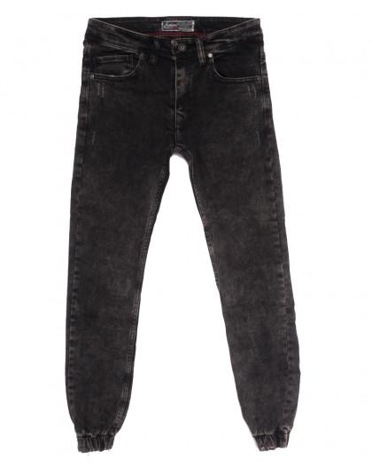 7247 Fashion Red джинсы мужские на резинке с царапками серые осенние стрейчевые (29-36, 8 ед.) Fashion Red