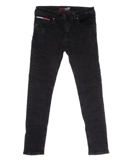 7198 Redcode джинсы мужские c царапками темно-серые осенние стрейчевые (29-36, 8 ед.) Redcode