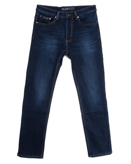 66049 Pr.Minos джинсы мужские полубатальные на флисе синие зимние стрейчевые (32-38, 8 ед.) Pr.Minos