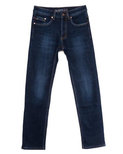 66043 Pr.Minos джинсы мужские на флисе синие зимние стрейчевые (29-38, 8 ед.) Pr.Minos