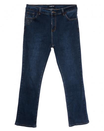 1631 Lady N джинсы женские батальные синие осенние стрейчевые (32-42, 6 ед.) Lady N