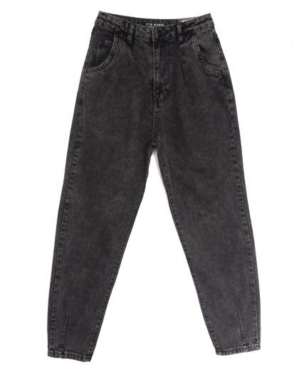 1724-4 Fume Its Basic джинсы-баллон серые осенние коттоновые (34-42,евро, 6 ед.) Its Basic