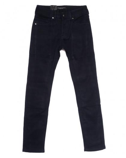 8692 God Baron джинсы мужские молодежные на флисе темно-синие зимние стрейчевые (27-34, 8 ед.) God Baron