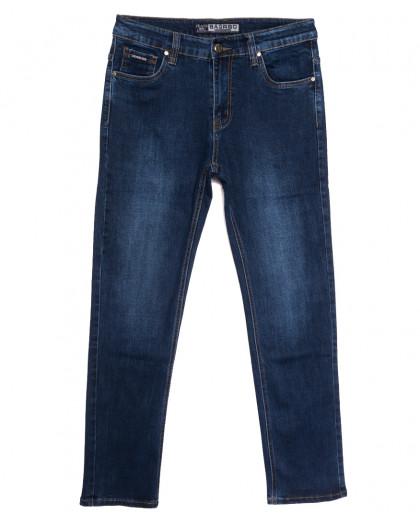 8557 Bagrbo джинсы мужские полубатальные синие осенние стрейчевые (32-38, 8 ед.) Bagrbo