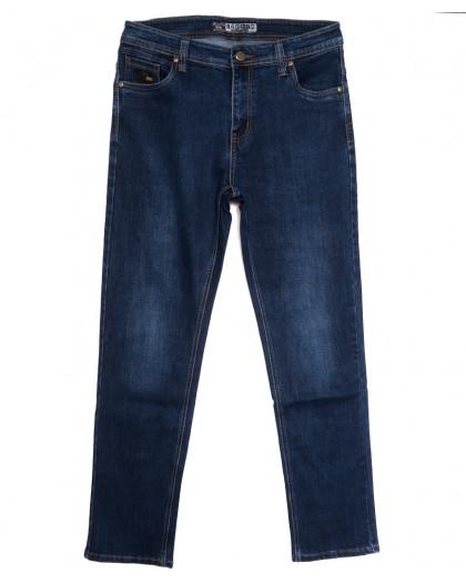 8539 Bagrbo джинсы мужские полубатальные синие осенние стрейчевые (32-38, 8 ед.) Bagrbo