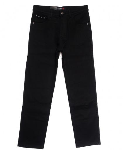 89020 LS джинсы мужские полубатальные на флисе черные зимние стрейчевые (32-38, 8 ед.) LS
