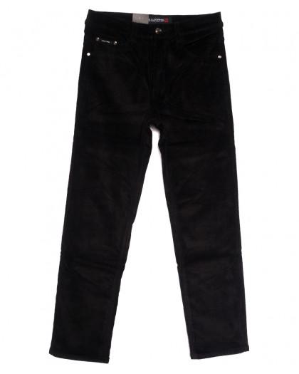 89024 LS джинсы мужские на флисе черные зимние стрейчевые (30-40, 8 ед.) LS