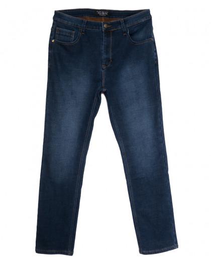 1079 Mark Walker джинсы мужские батальные на флисе синие зимние стрейчевые (36-44, 8 ед.) Mark Walker