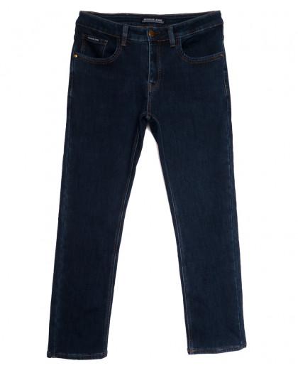 024777 Reigouse джинсы мужские полубатальные на флисе черные зимние стрейчевые (32-42, 8 ед.) REIGOUSE