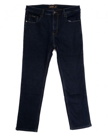 01999 T-Star джинсы мужские батальные на флисе темно-синие зимние стрейчевые (36-46, 8 ед.) T-Star