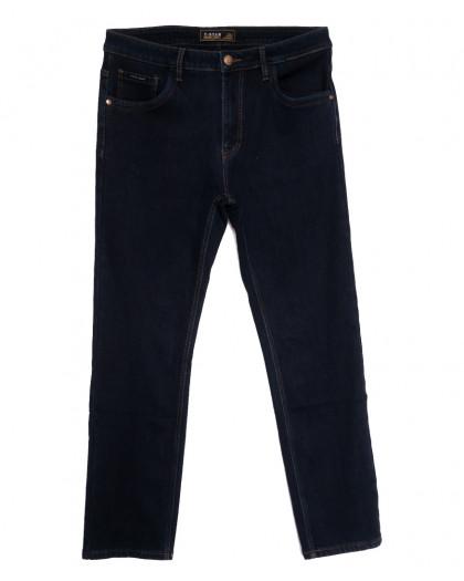 02999 T-Star джинсы мужские батальные на флисе темно-синие зимние стрейчевые (34-44, 8 ед.) T-Star