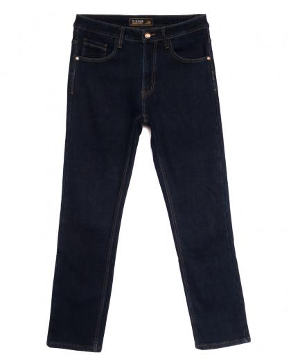 03999 T-Star джинсы мужские полубатальные на флисе темно-синие зимние стрейчевые (32-42, 8 ед.) T-Star
