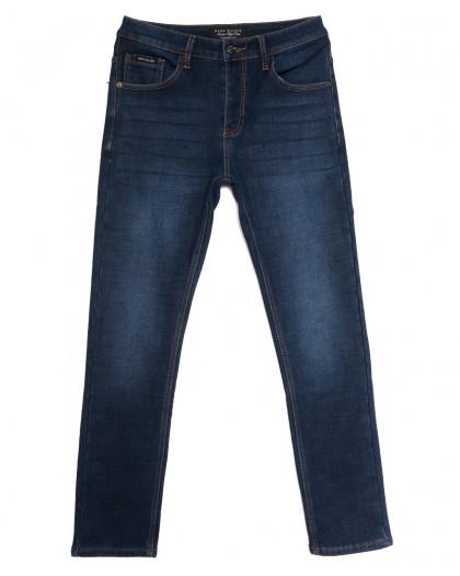 9023 Mark Walker джинсы мужские на флисе синие зимние стрейчевые (30-38, 8 ед.) Mark Walker