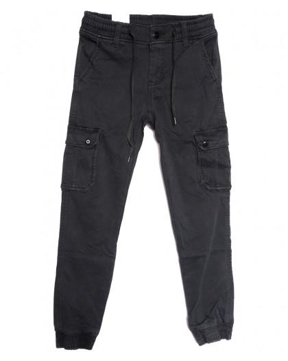 8379 Reman брюки карго мужские на флисе серые зимние стрейчевые (29-38, 8 ед.) Reman