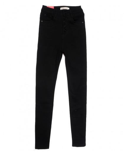 5258 Forest Jeans джинсы женские черные осенние стрейчевые (25-30, 6 ед.) Forest Jeans