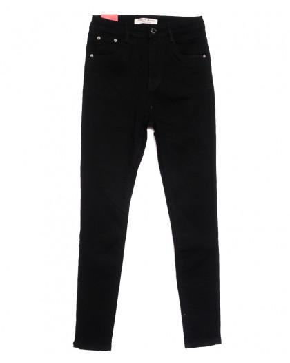 5263 Forest Jeans джинсы женские полубатальные черные осенние стрейчевые (28-33, 6 ед.) Forest Jeans