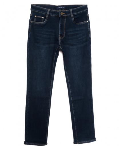 8008 Lavrs джинсы мужские на флисе синие зимние стрейчевые (29-38, 8 ед.) Lavrs