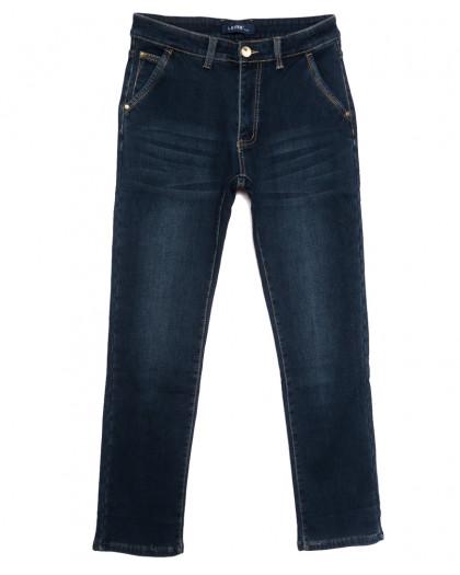 8011 Lavrs джинсы мужские на флисе синие зимние стрейчевые (29-38, 8 ед.) Lavrs