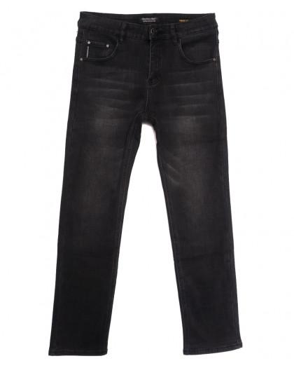 9100 Dimarkis Day джинсы мужские на флисе серые зимние стрейчевые (30-40, 8 ед.) Dimarkis Day