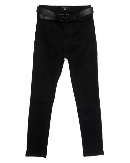 9746 Dimarkis Day джинсы женские батальные на флисе черные зимние стрейчевые (31-38, 6 ед.) Dimarkis Day