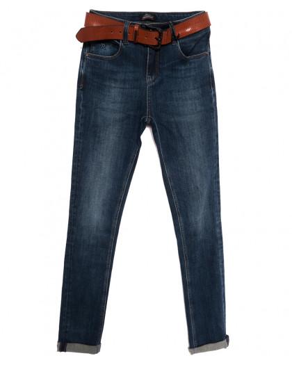 9579 Dimarkis Day джинсы женские полубатальные синие осенние стрейчевые (28-33, 6 ед.) Dimarkis Day