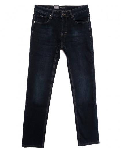 1095 Pаgalee джинсы мужские на флисе синие зимние стрейчевые (31-38, 8 ед, 36-й рост) Pagalee