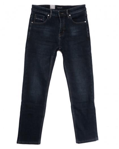 1081 Pаgalee джинсы мужские полубатальные на флисе синие зимние стрейчевые (32-36, 8 ед.) Pagalee